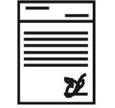 Original y copia de certificado médico