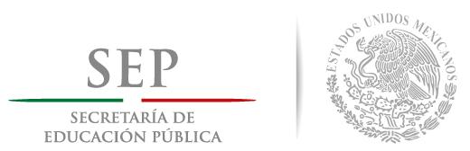 Secretaría de Educación Pública [logotipo]